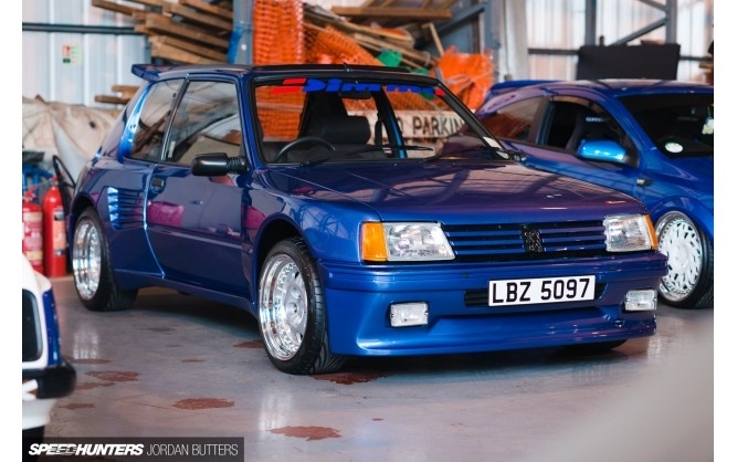 Peugeot 205 Dimma reproduced